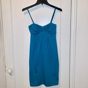 H&M Blue Sundress with Spaghetti Straps Size 4